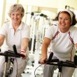 Fitness for seniors — Stock Photo