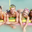 Team of divers — Stock Photo #10745480