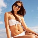 Beautiful sunbather — Stock Photo #10745542