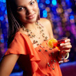 Clubbing beauty - Stock Photo