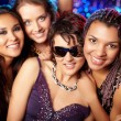 cool clubbers — Stock Photo
