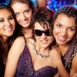 Stock Photo: Cool clubbers