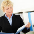 Mature businesswoman — Stock Photo