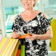 Female shopping - Stockfoto