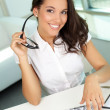 Royalty-Free Stock Photo: Smiling secretary