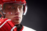 Hockeyist — Stock Photo