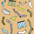 Royalty-Free Stock Vector Image: Underwear pattern