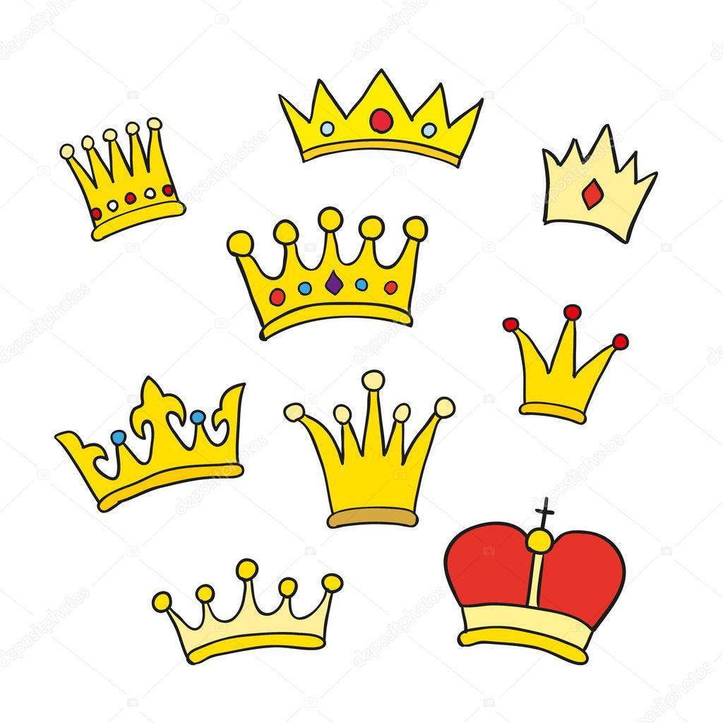 Рисунок короны картинки