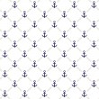 Anchor pattern - Stock Vector