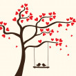 Hearts tree — Stock Vector #10693005
