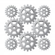 Vector gears — Stock Vector #10693127