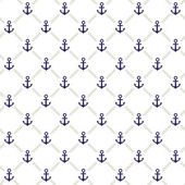Anchor pattern — Stock Vector