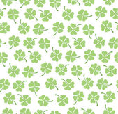 Clover pattern — Stock Vector