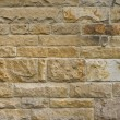 Frontal view of a sandstone wall — Stock Photo