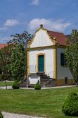 Old garden house in baroque garden — Stock Photo