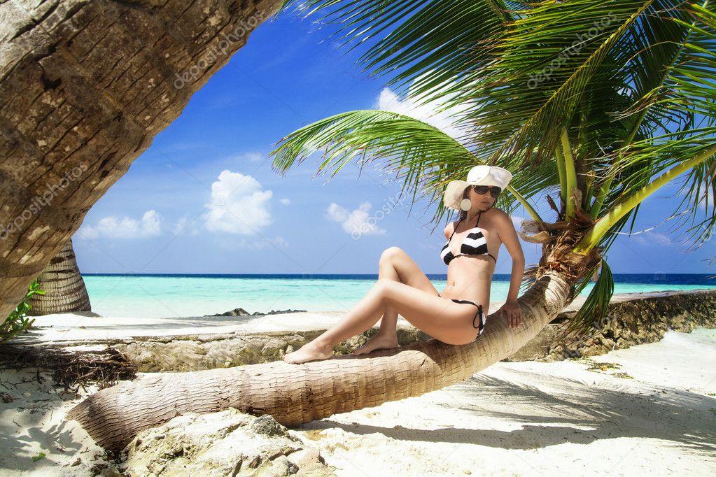 Египет девушка пляж фото