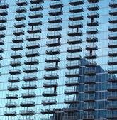 Glass Building in Buckhead District, Atlanta Georgia — Stock Photo