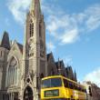 Stock Photo: Bus in Dublin, Ireland