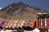 Peruaanse dekens — Stockfoto