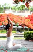 瑜伽冥想 — 图库照片