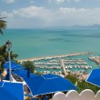 Stock Photo: Sidi Bou Said, artists town