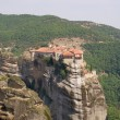 Stok fotoğraf: Monastery seen from large Meteora