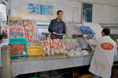 Smile at the Fish Market — Stock Photo