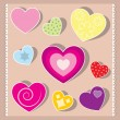 Hearts — Stock Vector #10652427