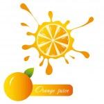 Orange juice — Stock Vector #10717523