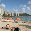 Waikiki Beach,Oahu,HI — Stock Photo