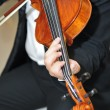 Violinist: Musiciplaying violin at opera — Stock Photo #10719610