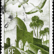 thumbnail of ALGERIA - CIRCA 1949 Storks over Mosque