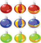 Vector Balls xmas set color 02