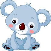 Fun zoo Illustration of cute Koala Bear