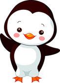 Fun zoo Illustration of cute Penguin