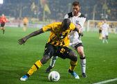 PAOK és aris labdarúgó-válogatott játékos