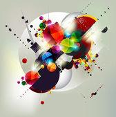 Background of geometric shapes