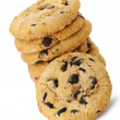 thumbnail of A stack of chocolate chip cookies