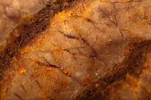 Cervo arrosto con salsa