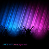 Vector Background - Dancing Young