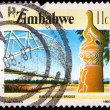 thumbnail of An 11-cent stamp printed in Zimbabwe