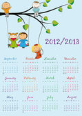 školní kalendář