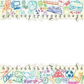 Schule-Hintergrund