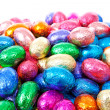 thumbnail of Pile of colorful easter eggs