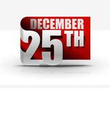 25 Dezember Aufkleber entwerfen
