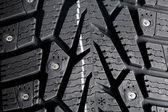 Zimní trn pneumatiky textura