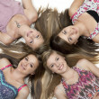 Постер, плакат: Four Teen Girls