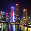 thumbnail of Singapore city skyline at night