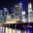 thumbnail of Cityscape of Singapore at night