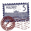 thumbnail of Vector illustration of single madrid icon